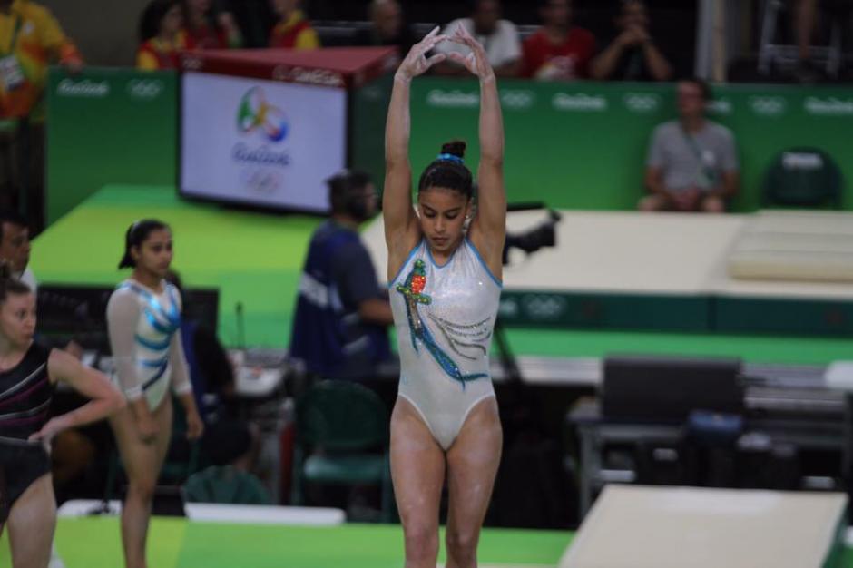 """""""Sofi"""" participará en la prueba de """"todo evento"""" en Río 2016. (Foto: Comité Olímpico Guatemalteco)"""