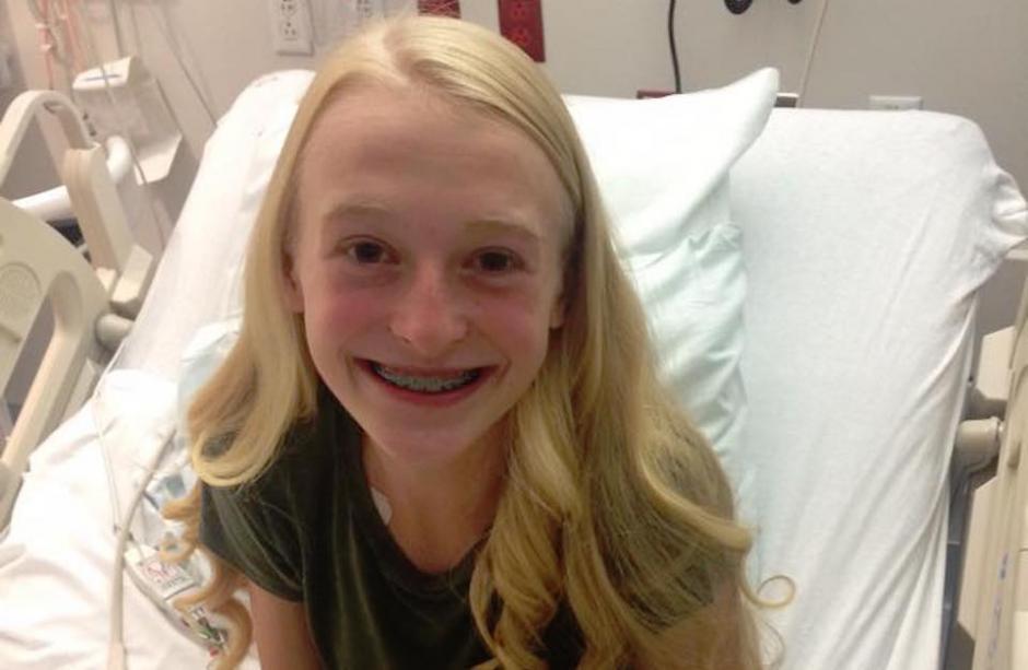 Macey Wright tiene 14 años y nació con una anomalía cardiaca congénita. (Foto: Facebook, Macey's New Heart)