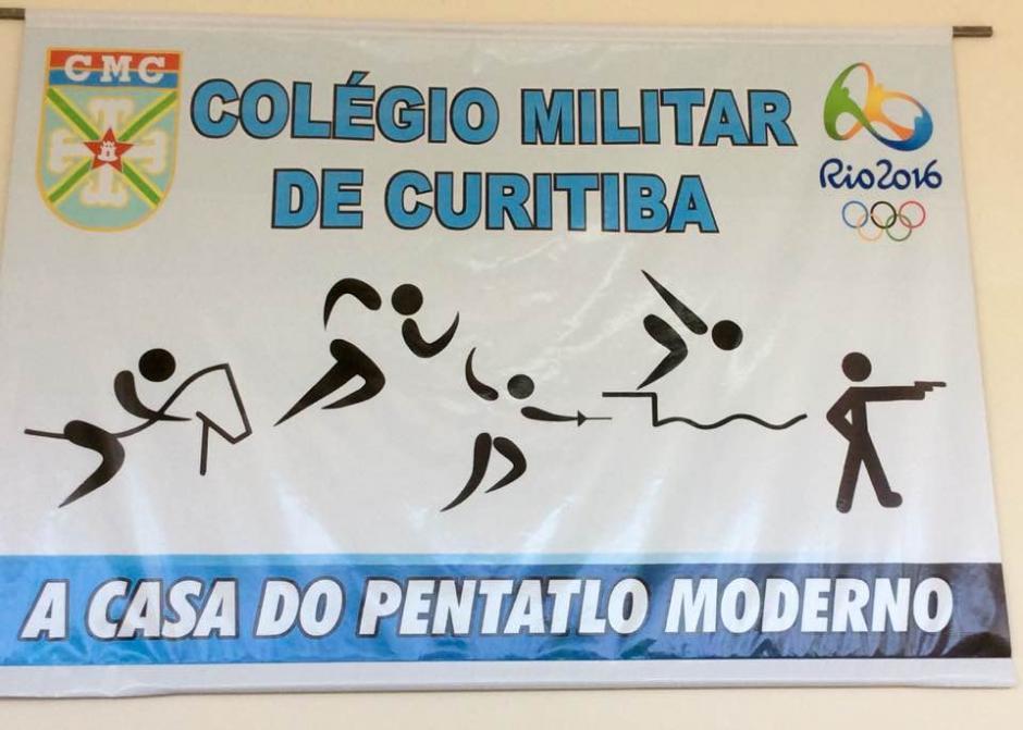 En el Colegio Militar de Curitiba, en Brasil, se entrenan los pentatletas guatemaltecos. (Foto: Cortesía)