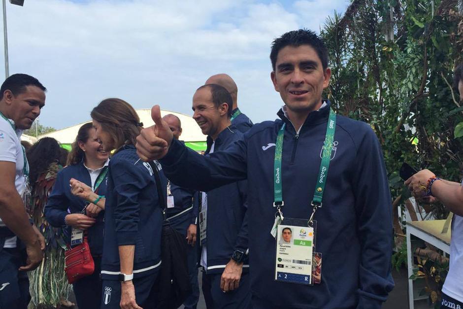 El ciclista Manuel Rodas será uno de los primeros en competir. (Foto: Pedro Pablo Mijangos/Soy502)
