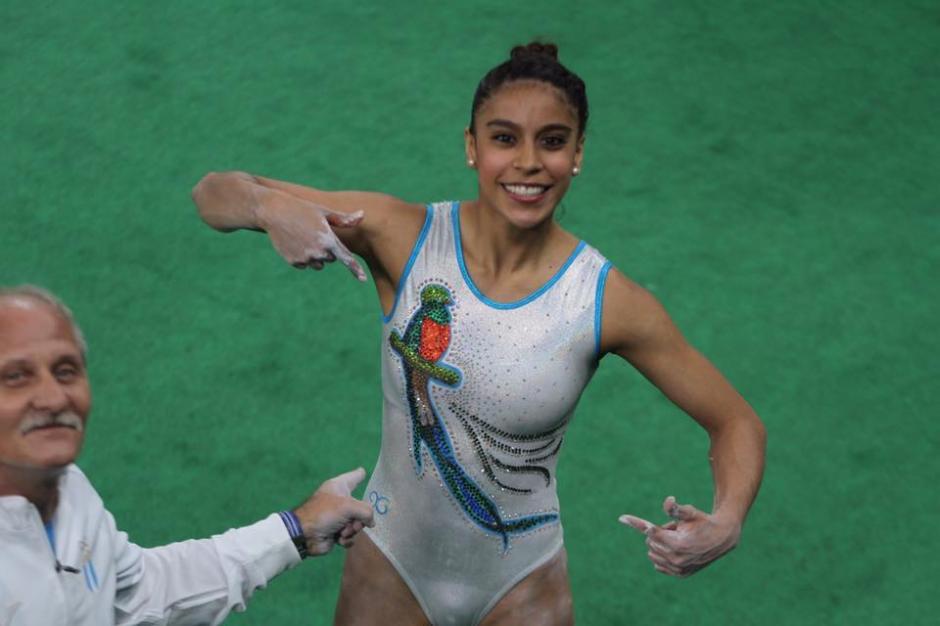 Ana Sofía Gómez realizó el entreno oficial de gimnasia en los Juegos Olímpicos de Río 2016. (Foto: Comité Olímpico Guatemalteco)