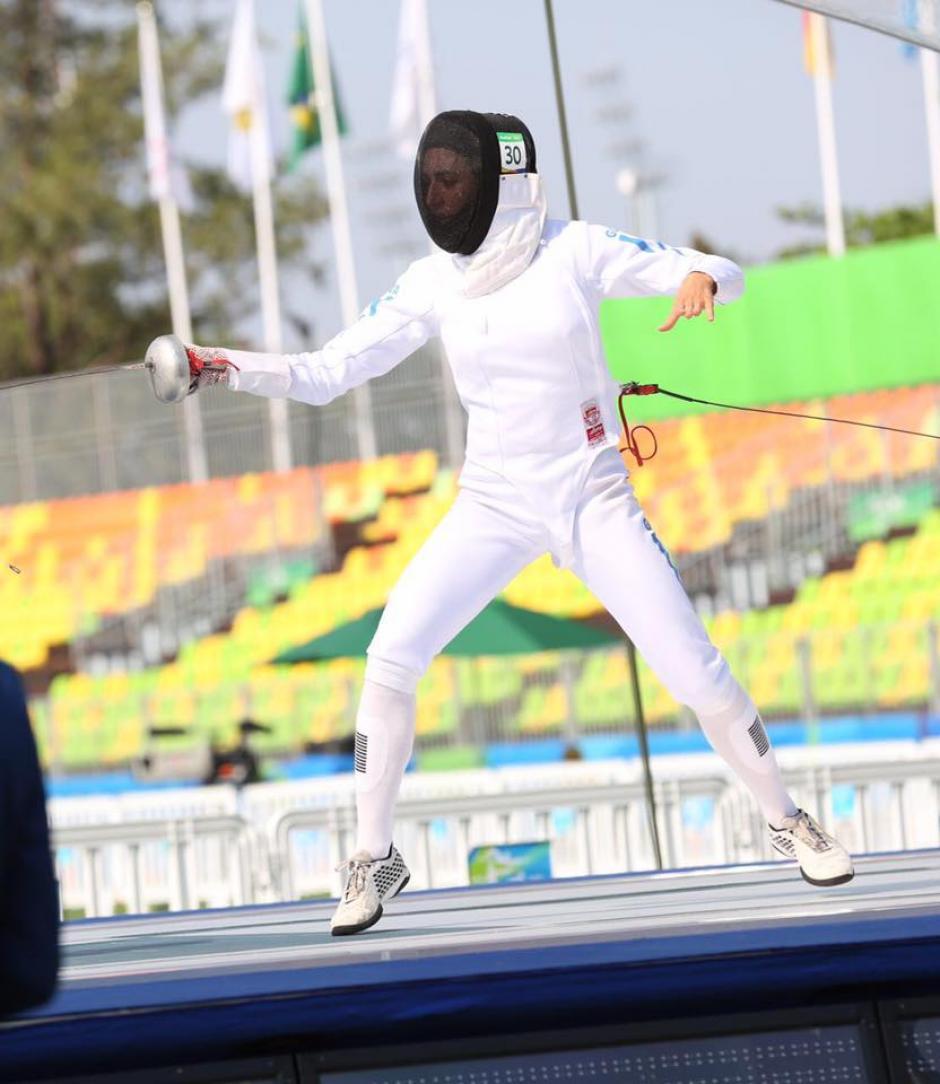 Isabel Brand debutó en Juegos Olímpicos. (Foto: Sergio Muñoz/ACD)
