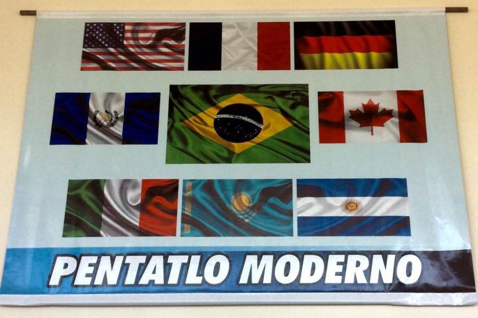 Algunos de los países que entrenan en Curitiba, previo a los Juegos Olímpicos. (Foto: Cortesía)
