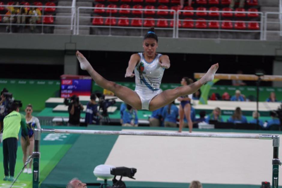 Ana Sofía competirá en barras, viga, salto y piso. (Foto: Comité Olímpico Guatemalteco)