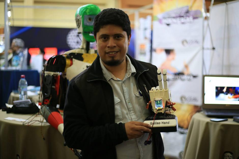 Julio Fajardo espera ser un agente de cambio en el mundo de las prótesis. (Foto: Julio Fajardo)