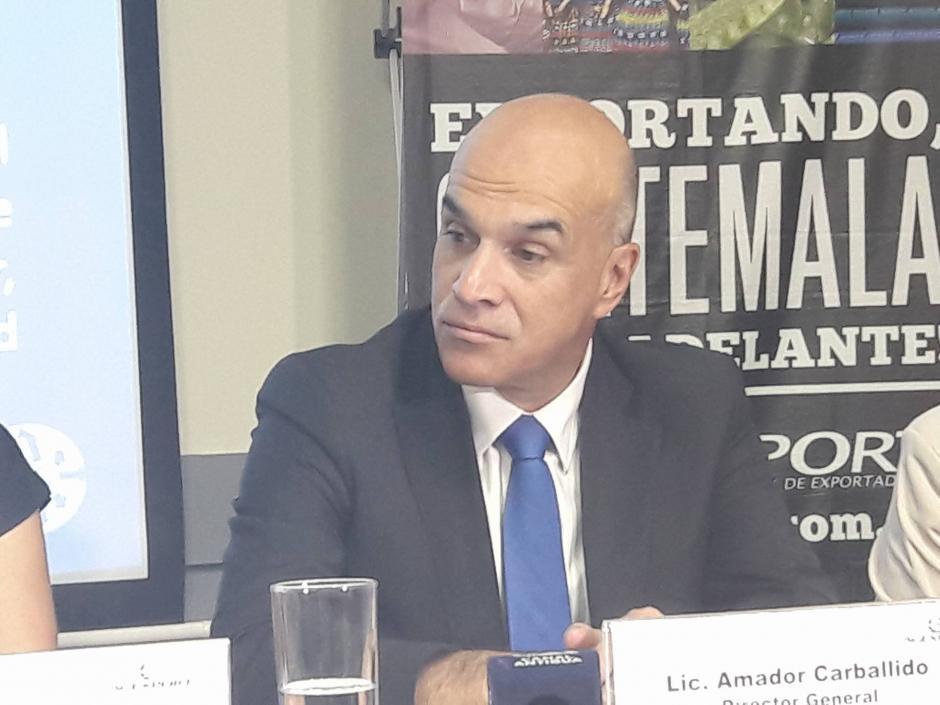 Por su parte el Director General de Agexport, Amador Carballido, urgió en la necesidad de invertir en innovación. (Foto: Javier Lainfiesta/Soy502)