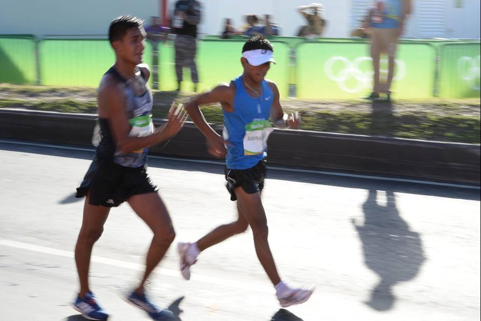 Erick Barrondo quedó lejos del podio en la prueba de 20 kilómetros de marcha. (Foto: Sergio Muñoz/Enviado ACD)