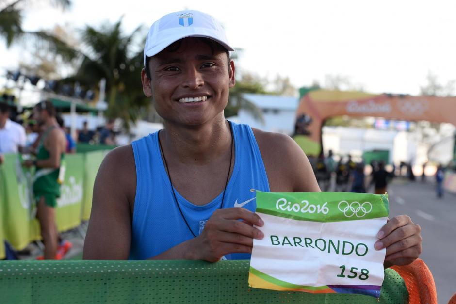 Barrondo compitió con el número 158. (Foto: Sergio Muñoz/Enviado ACD)