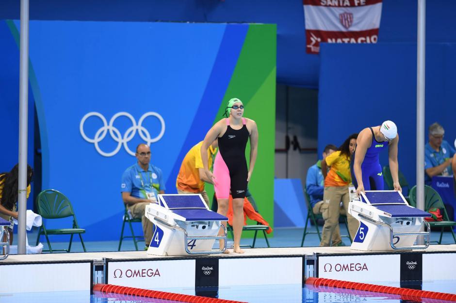 Valerie Gruest finalizó su participación olímpica con la prueba de 800 metros libres. (Foto: Aldo Martínez/Enviado especial de Nuestro Diario)