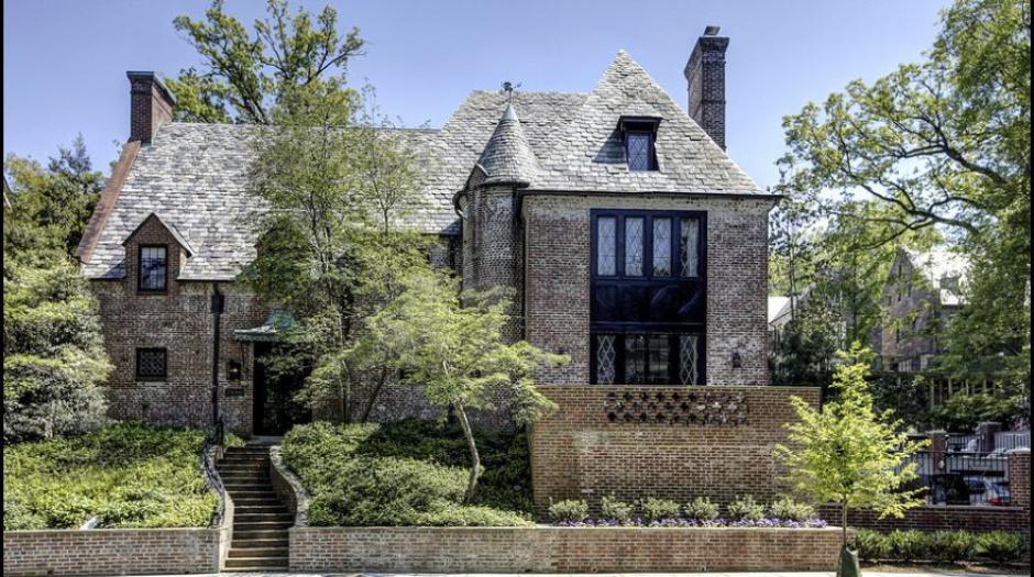 Esta será la nueva casa de la familia Obama, ubica en Washington. (Foto: MRIS)