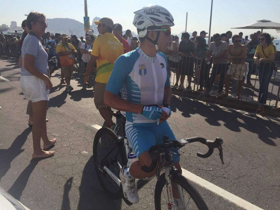 Rodas no pudo completar la prueba, el primer lugar le sacó más de 30 minutos. (Foto: Aldo Martínez/Enviado de Nuestro DIario)