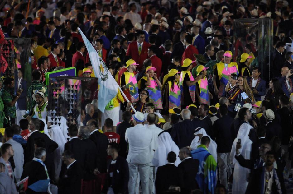 Ana Sofía Gómez portó la bandera azul y blanco en Río 2016. (Foto: Aldo Martínez/Nuestro Diario)