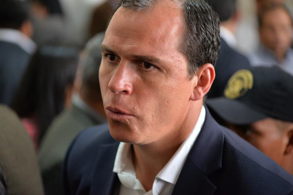 Dwight Pezzarossi permanece ligado a proceso en el caso Cooptación del Estado. (Foto: Archivo/Soy502)