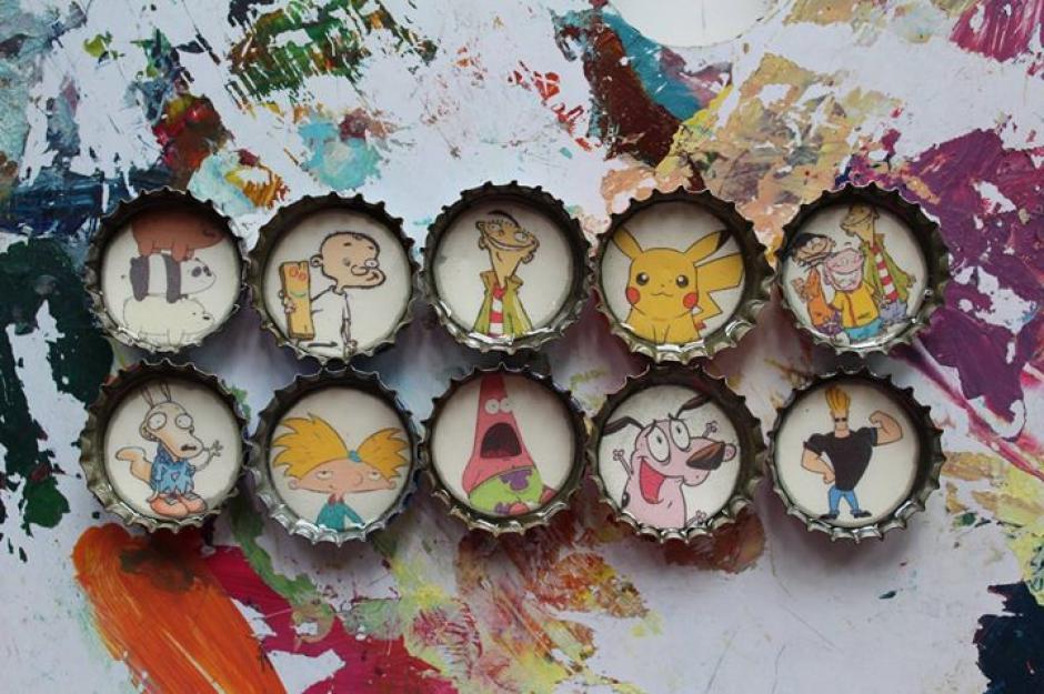 La infancia está guardada en estos pequeños diseños. (Foto: Ñati)