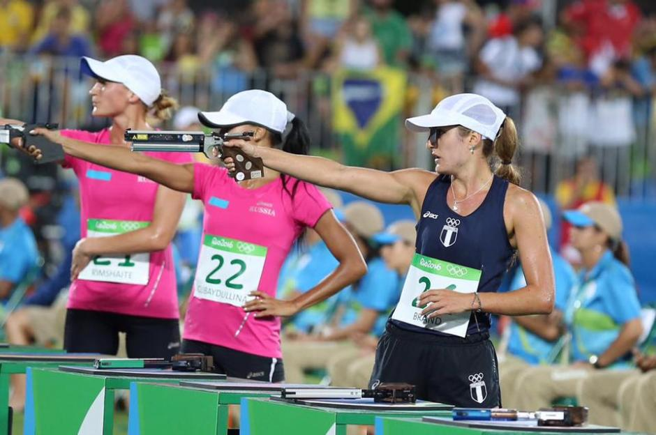 Isabel Brand finalizó como la segunda mejor exponente de Latinoamérica en pentatlón. (Foto: Sergio Muñoz/ACD)