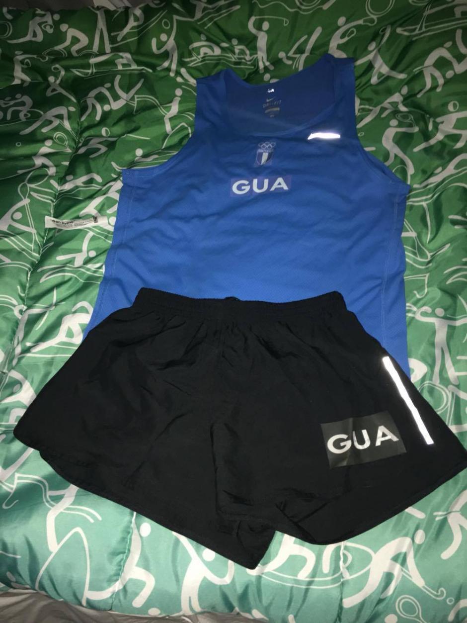 Este será el uniforme que usará Erick Barrondo y José Raymundo, este viernes en Río. (Foto: Cortesía)