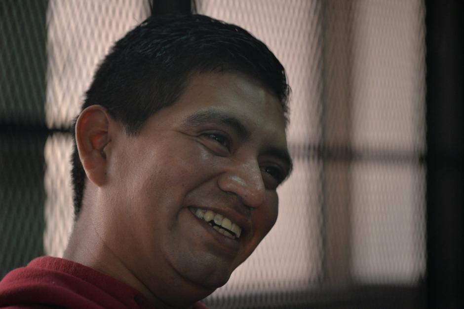 Francisco Antonio Pirir Cancinos es integrante de la porra roja y está acusado de haber participado en la trifulca que acabó con la vida del aficionado crema Kevin Díaz. (Foto: Wilder López/Soy502)