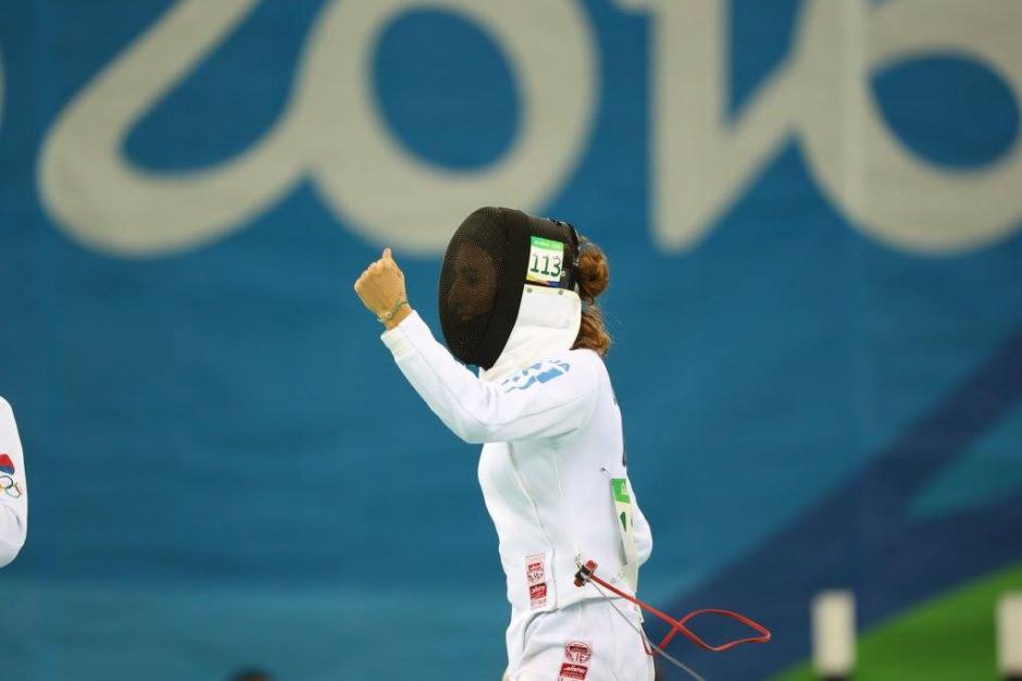 Isabel Brand está debutando en Juegos Olímpicos.  (Foto: Comité Olímpico Guatemalteco)