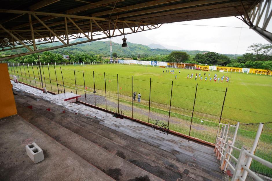 El estadio La Asunción, de Jutiapa, es uno de los más pequeños de la Liga Nacional. (3 mil 500 aficionados). (Foto: Nuestro Diario)