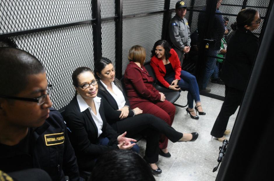 A Baldetti también se le sindica en el caso TCQ y Cooptación del Estado.  (Foto: Alejandro Balán/Soy502)