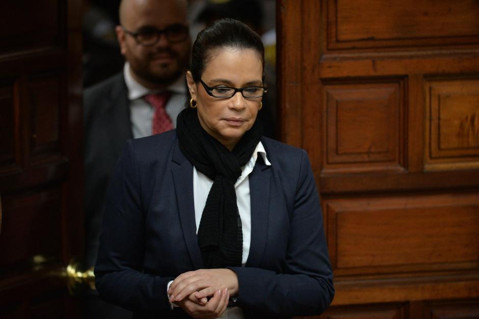 Roxana Baldetti permanece en prisión preventiva mientras se desarrollan los procesos legales en su contra por supuestos actos de corrupción. (Foto: Archivo/Soy502)