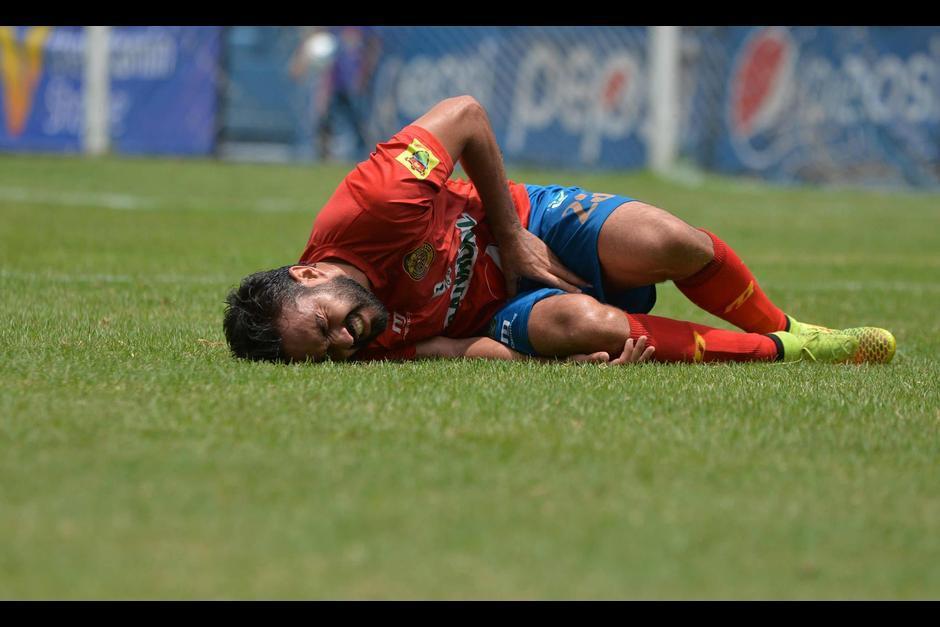 Una dolencia en rodilla aleja a Carlos Kamiani de la final del Apertura 2016. (Foto: Archivo)