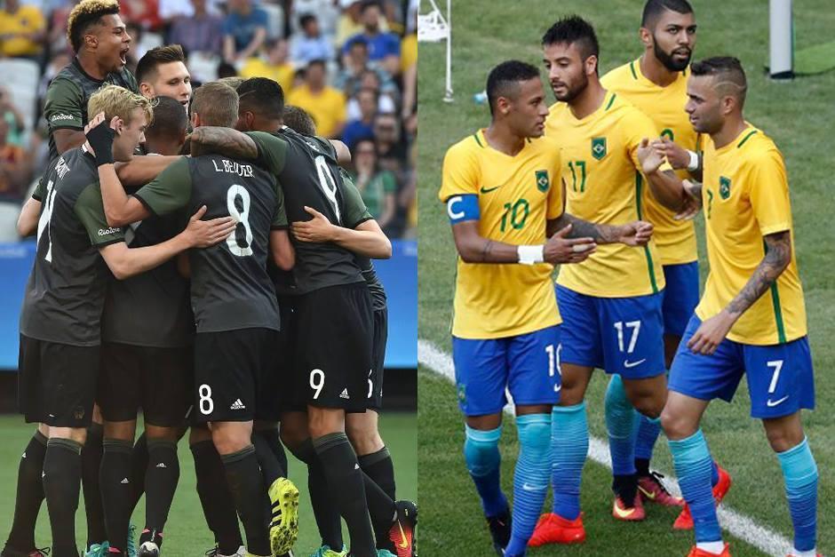 Alemania y Brasil se enfrentarán en el Maracaná (Fotos: AFP)