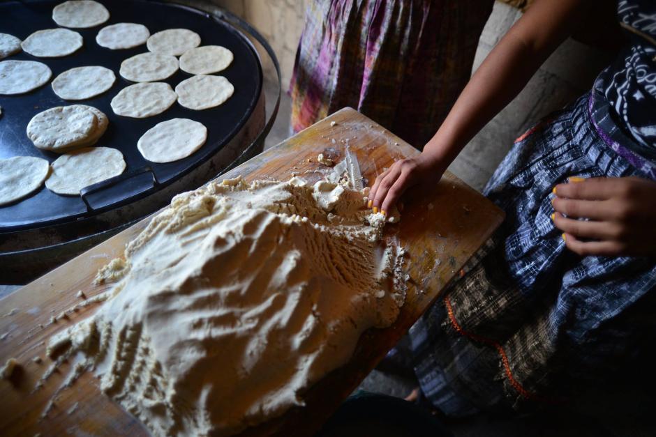 Las tortillas son el principal producto alimenticio en Guatemala. (Foto: Wilder López/Soy502)