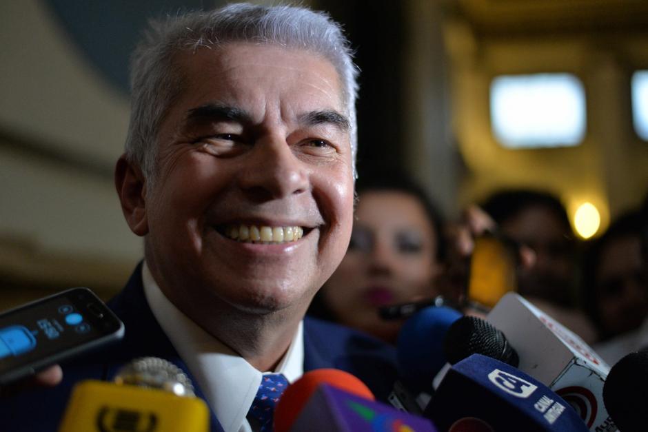 El diputado Luis Rabbé perdió su inmunidad por el caso de Plazas Fantasma. (Foto: Archivo/Soy502)