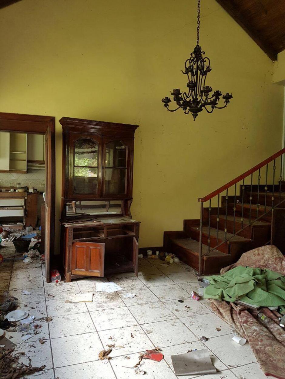 La casa fue allanada por las autoridades en 2014 (Foto: MP)