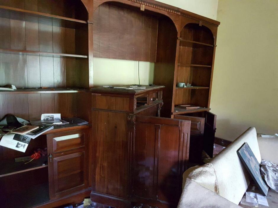 La finca pertenecía a la estructura criminal Los Sierra Obando (Foto: MP)