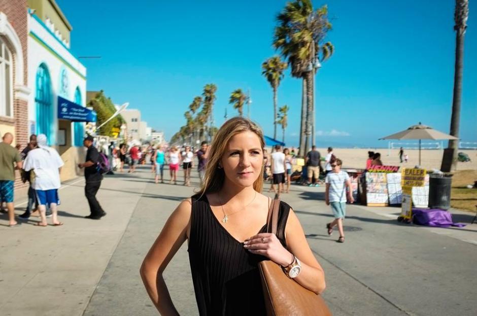 Jocelyn Taylor tiene casi tres años de vivir en México, destacándose en la conducción y la actuación. (Foto: Jocelyn Taylor)