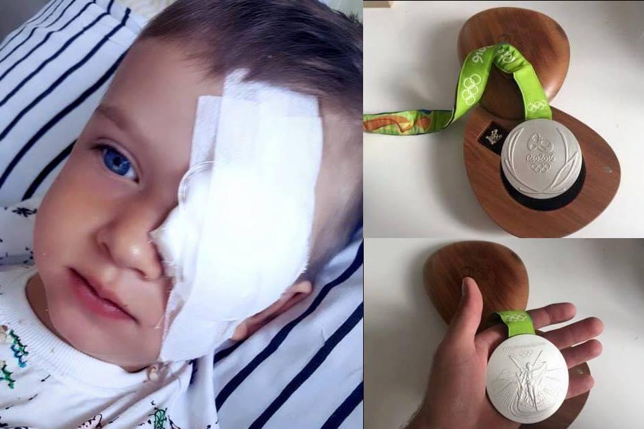 El pequeño Olek necesita un caro tratamiento en Nueva York. (Foto: Facebook)