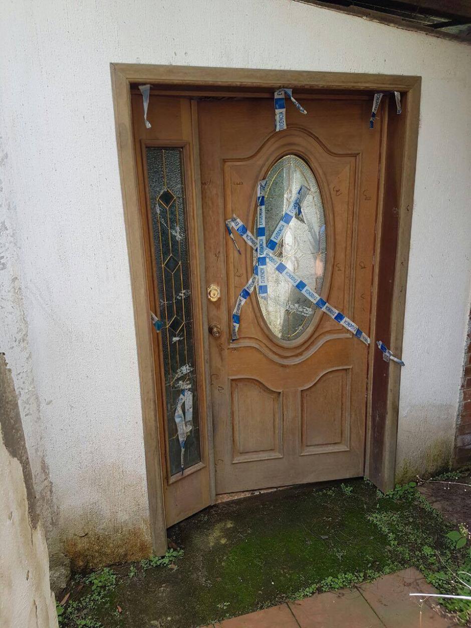 La propiedad se encuentra en La Antigua Guatemala. (Foto: MP)