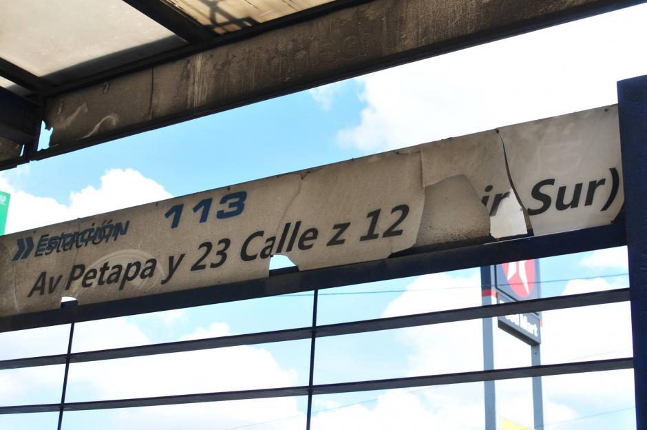 El MP investiga la construcción de las paradas pues se sospecha que fueron sobrevaloradas. (Foto: Archivo/Soy502)
