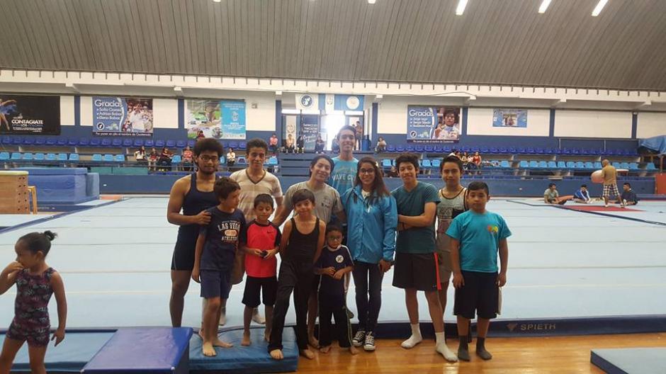 Ana Sofía regresó el jueves por la mañana a Guatemala. (Foto: Federación Nacional de Gimnasia)