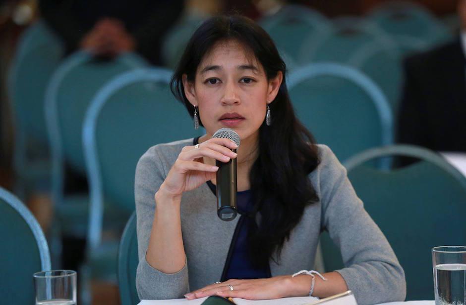 La ministra dijo que buscan implementar el modelo incluyente en todo el país. (Foto: MSPAS)
