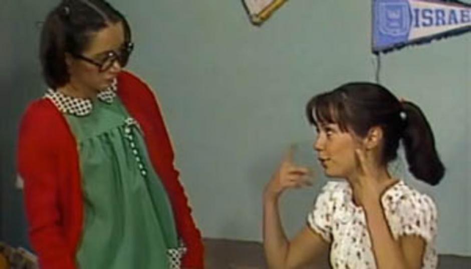 En el personaje la Chilindrina tenía celos de Patty. (Foto: Es Mas)