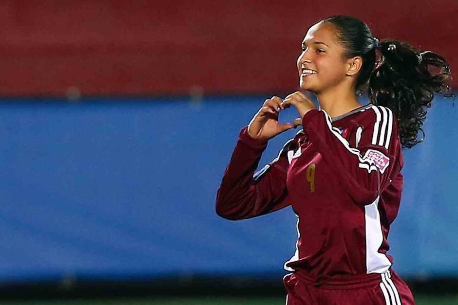 Deyna Castellanos es una promesa del fútbol femenino en Venezuela. (Foto: staticflickr.com)