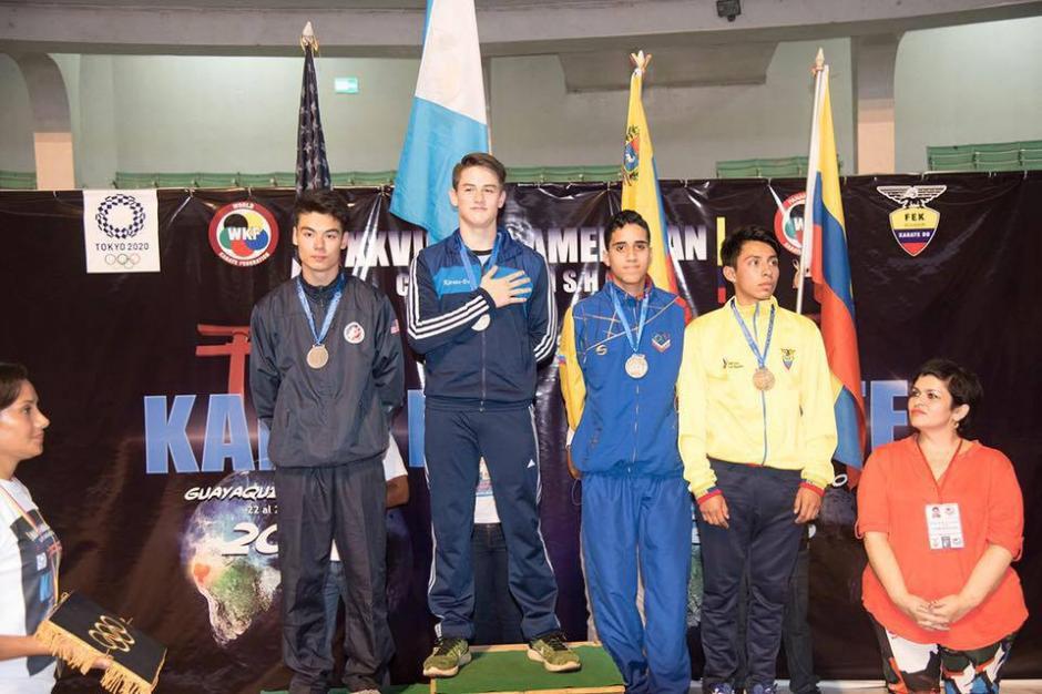 Christian Wever alcanzó la primera posición de su categoría en el evento panamericano celebrado en Guayaquil, Ecuador recientemente. (Foto: Facebook Christian Wever)