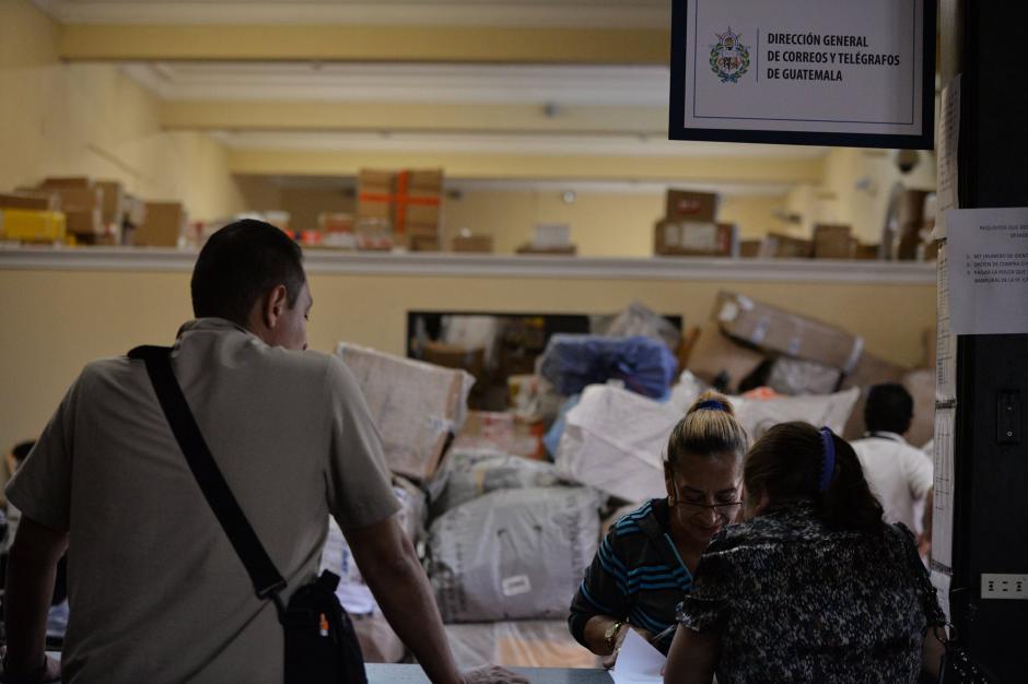 La agencia central funcionó con personal administrativo de la DGCYT. (Foto: Wilder López/Soy502)