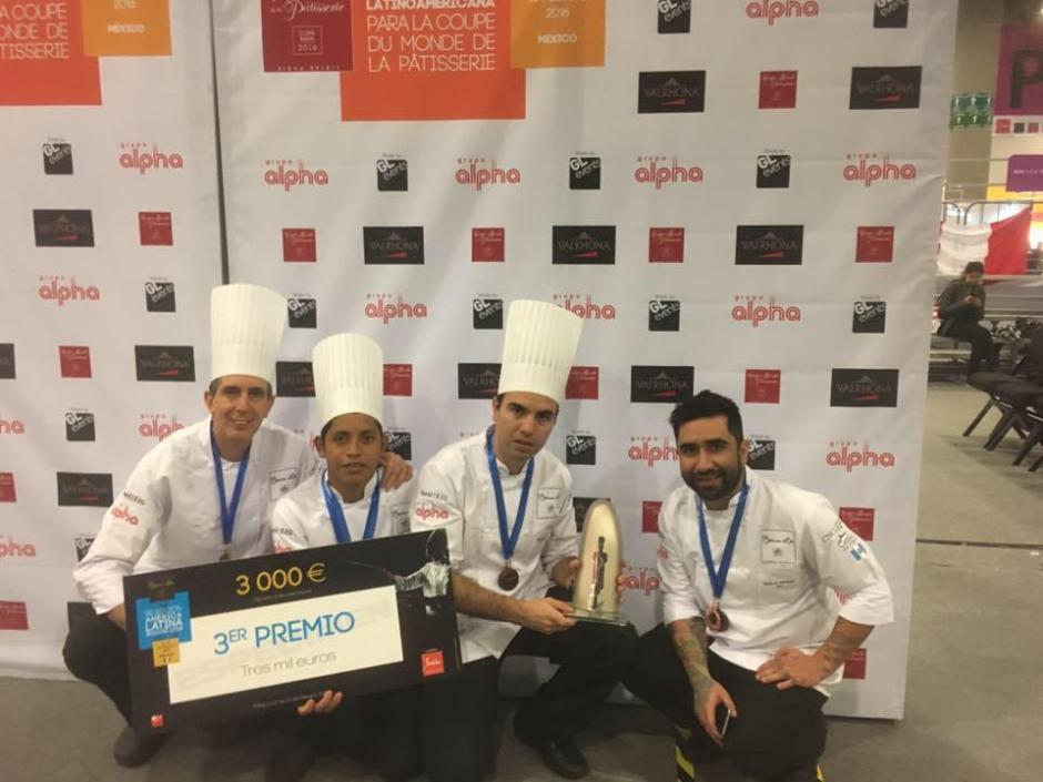 Este es el grupo de chefs que logró la clasificación de Guatemala a la final del Bocuse D'or en Francia. (Foto: Bocuse D'or Guatemala)