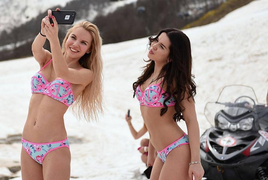 Las bellas rusas aprovechan para lucir sexys. (Foto: BoogelWoogel 2016