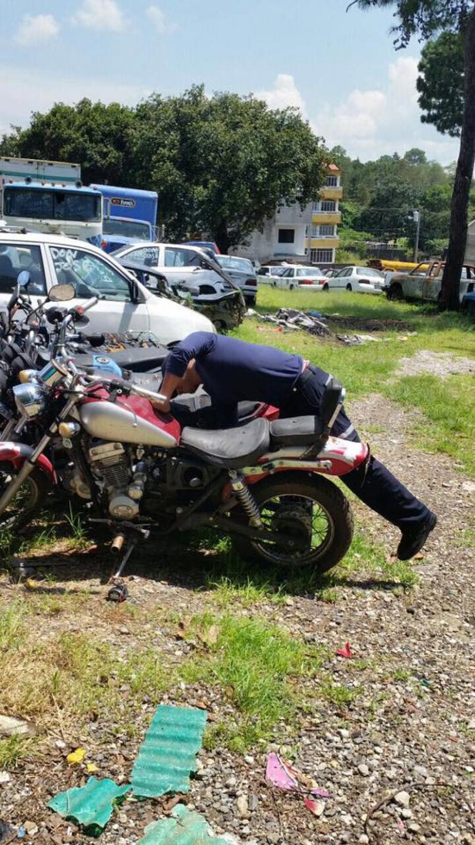 Las motos serán vendidas a partir de mil quetzales. (Foto: Muni de Mixco)