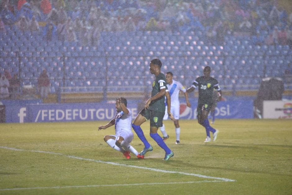 """Carlos """"el Pescado"""" Ruiz se despide de la Selección Nacional de Fútbol. (Foto: Wilder López/Soy502)"""