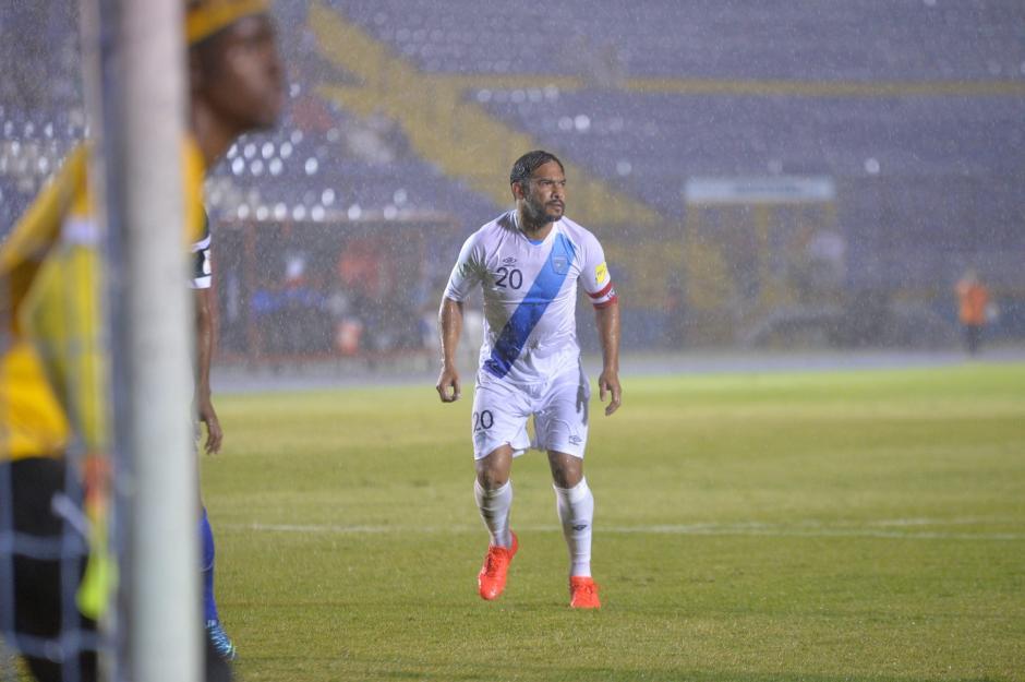 Carlos Ruiz se despide de la Selección Nacional de Fútbol con un récord mundial. (Foto: Wilder López/Soy502)