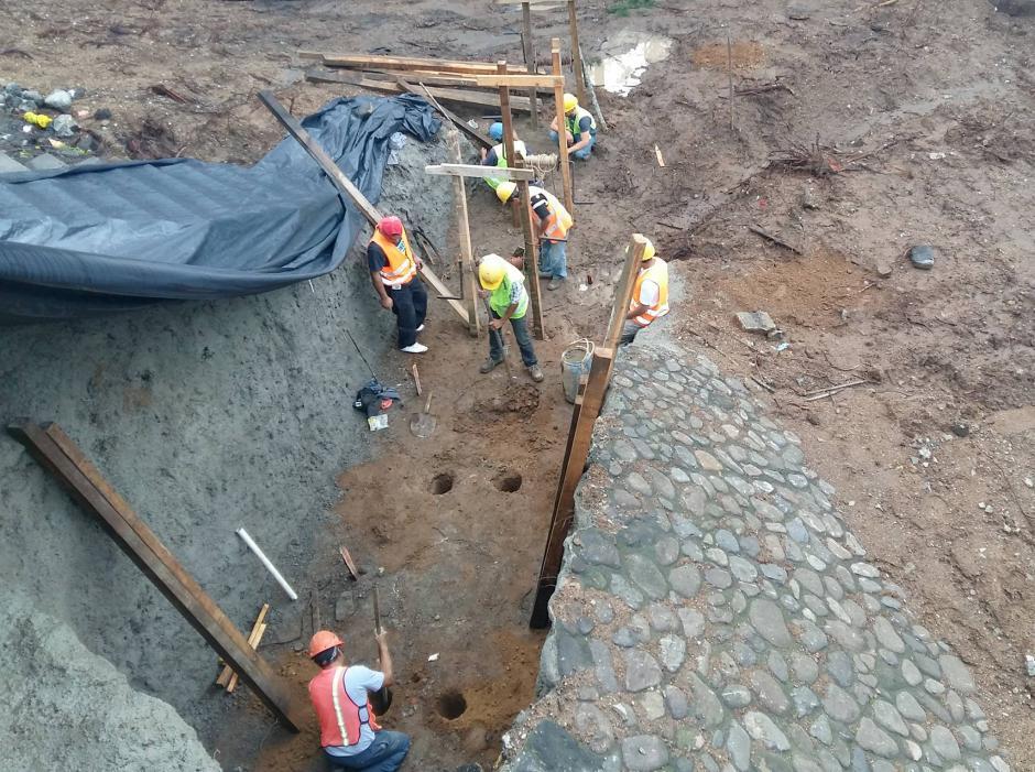 Los trabajos empezaron apenas hace unos días. (Foto: Municipalidad de Guatemala)