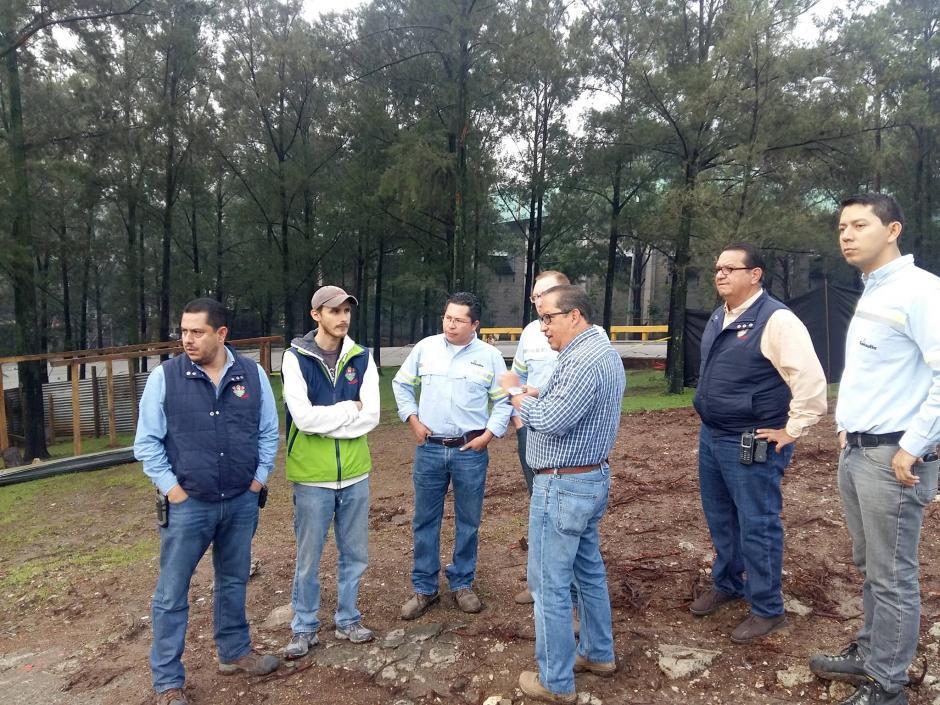 Las autoridades municipales estiman que tome cerca de cinco meses la realización de la obra. (Foto: Municipalidad de Guatemala)