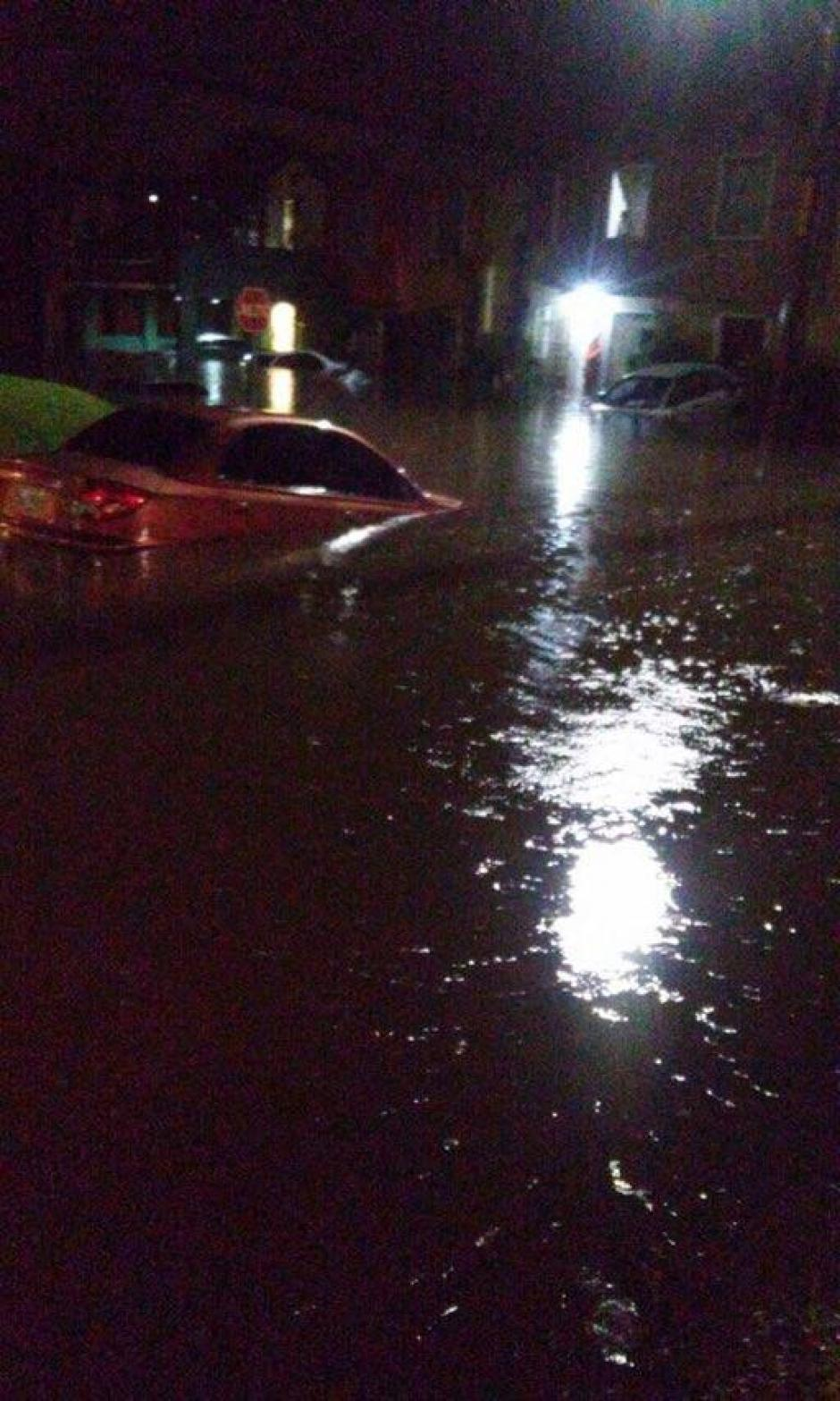 Las inundaciones afectaron diferentes sectores. (Foto: Conred)
