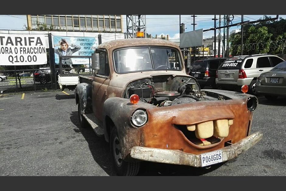 El auto ha sufrido transformaciones durante dos años. (Foto: Gustavo Méndez/Soy502)